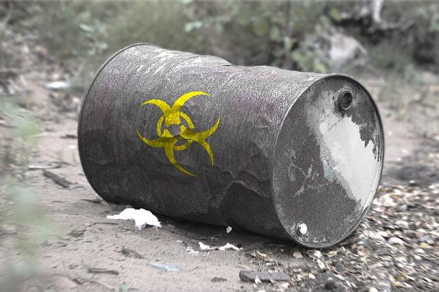 beczka z odpadami toksycznymi